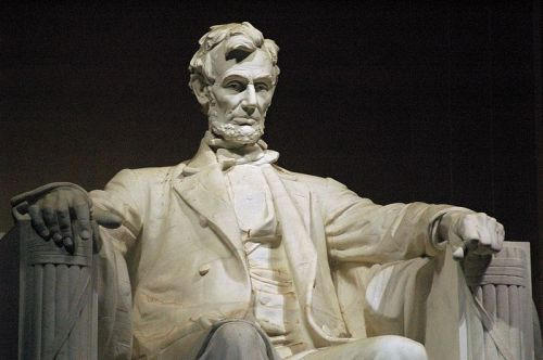 Daniel Chester Fernch's most famous creation. Abraham Lincoln, Lincoln Memorial, Washington, D. C. (Jeff Kubina)