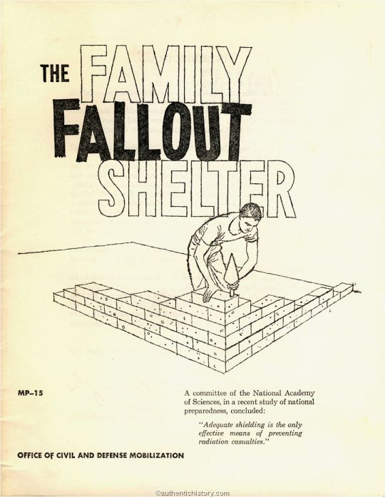 The Family Fallout Shelter 1960
