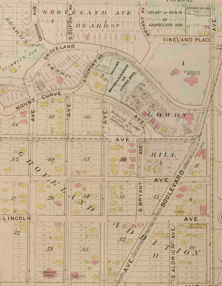 Thomas Lowry Park | Minneapolis Park History