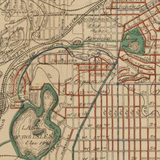 Lake of the Isles   Minneapolis Park History