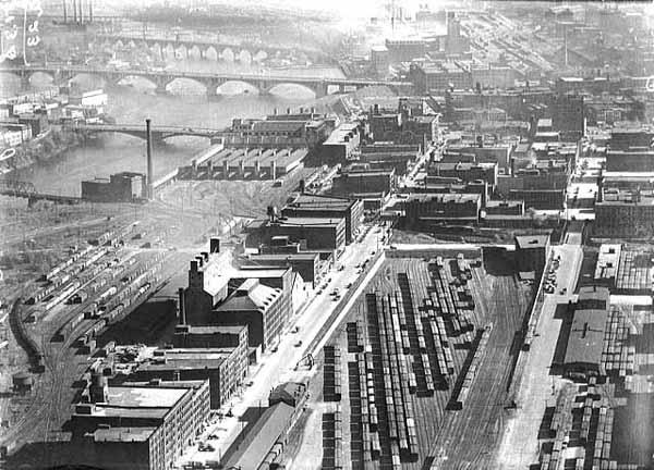 Mississippi River Minneapolis Park History