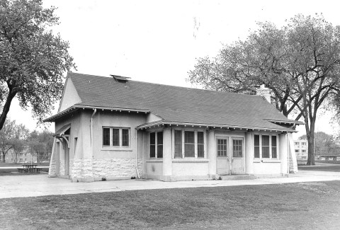 The Van Cleve Shelter long after renovations in 1940.