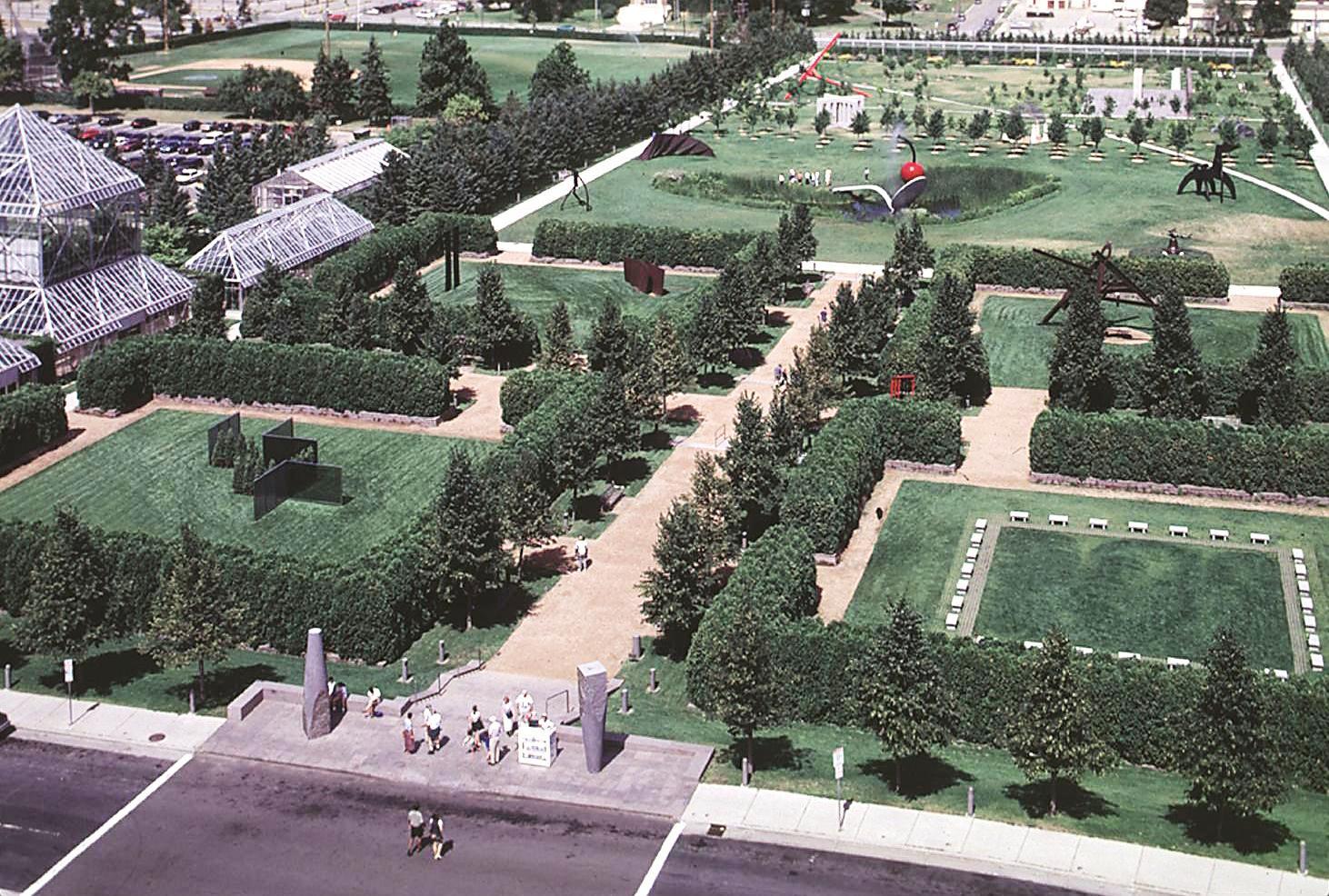 Minneapolis Sculpture Garden Minneapolis Park History