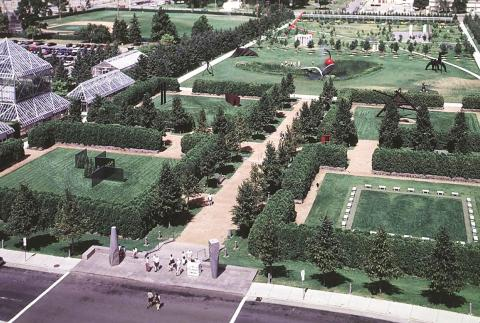 The same land in the photos above, but shot from the south. (Minneapolis Park and Recreation Board)
