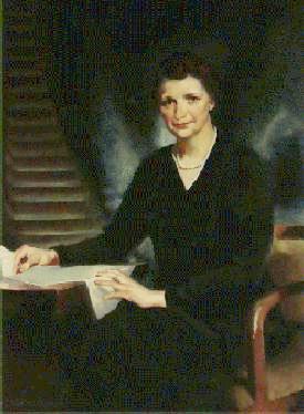 Frances Perkins, Secretary of Labor, 1933-1945.