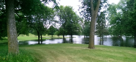 Another shot of the new lake in Meadowbrook Golf Course taken from near Excelsior Boulevard. (David C. Smith)