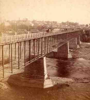 10th Avenue Bridge. Charles E. Tenney.