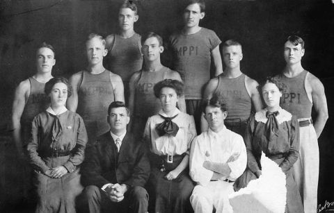 Recreation Staff 1910