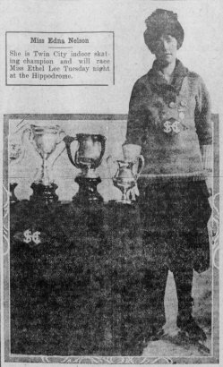 1917-02-18 Star_Tribune PHOTO of Edna Nelson Indoor Champ