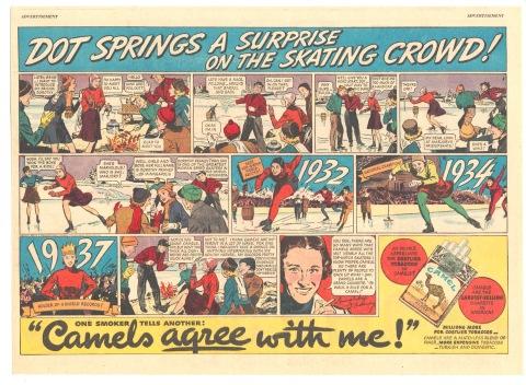 1938-03-06 Dot Franey Camel ad