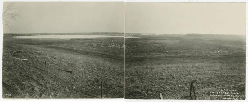 1922 Hibbard Lake Hiawatha looking south
