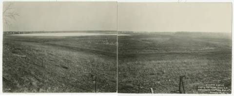 1922 Hibbard Lake Hiawatha looking south