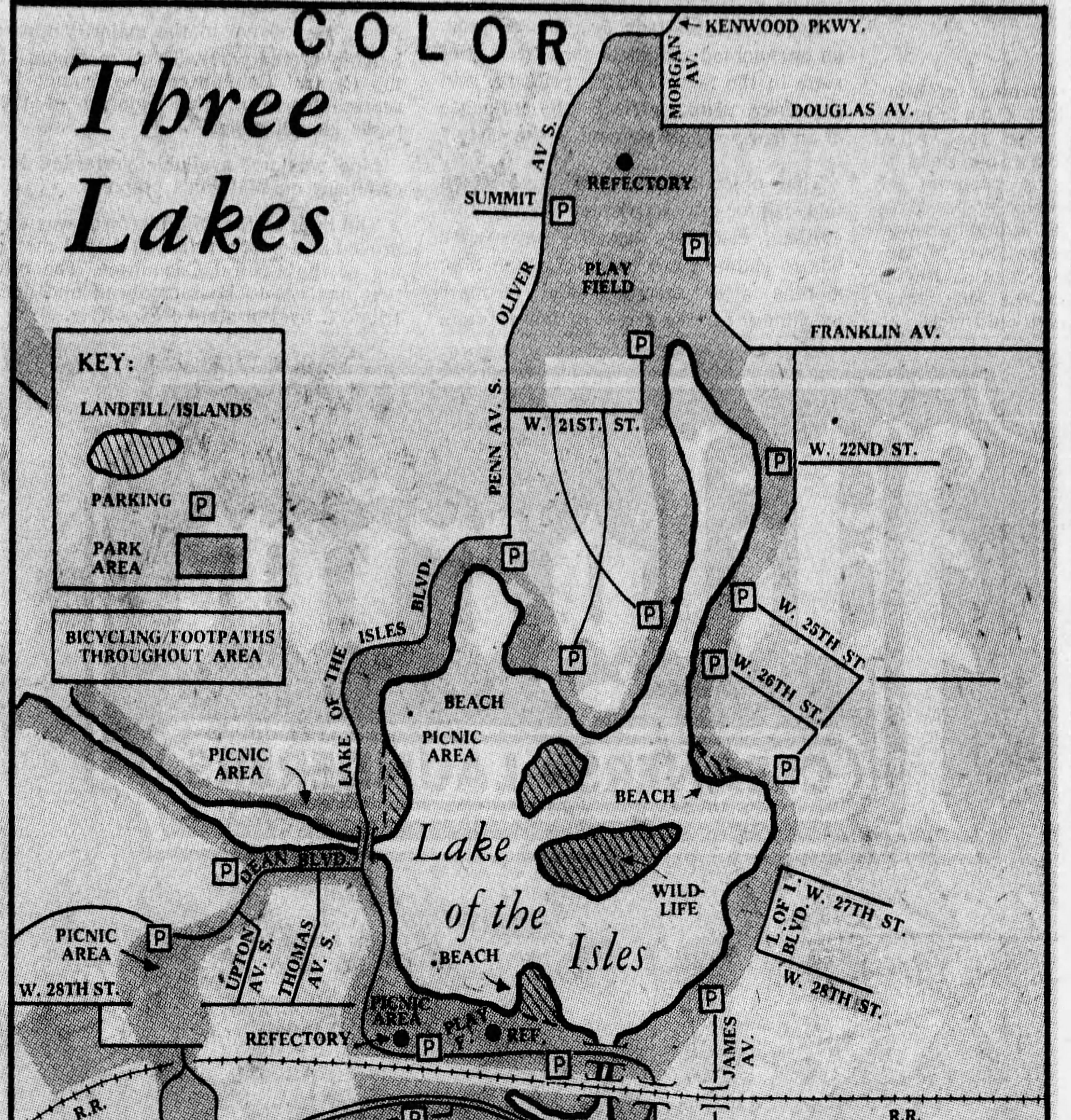 1970-09-07 The_Minneapolis_Star Lake of the Isles revisions