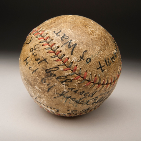 1918 WWI Ball Hall of Fame