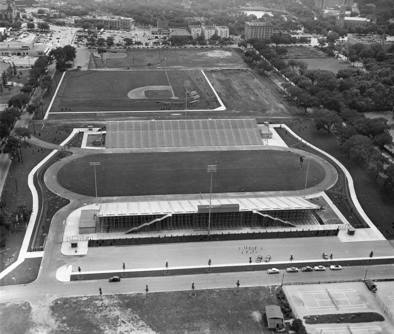 Parade Stadium 1952 MPRB